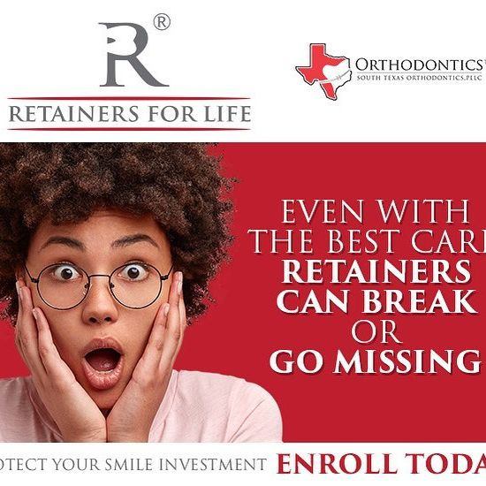 ASK US ABOUT RETAINERS FOR LIFE! Protect your smile investment!…