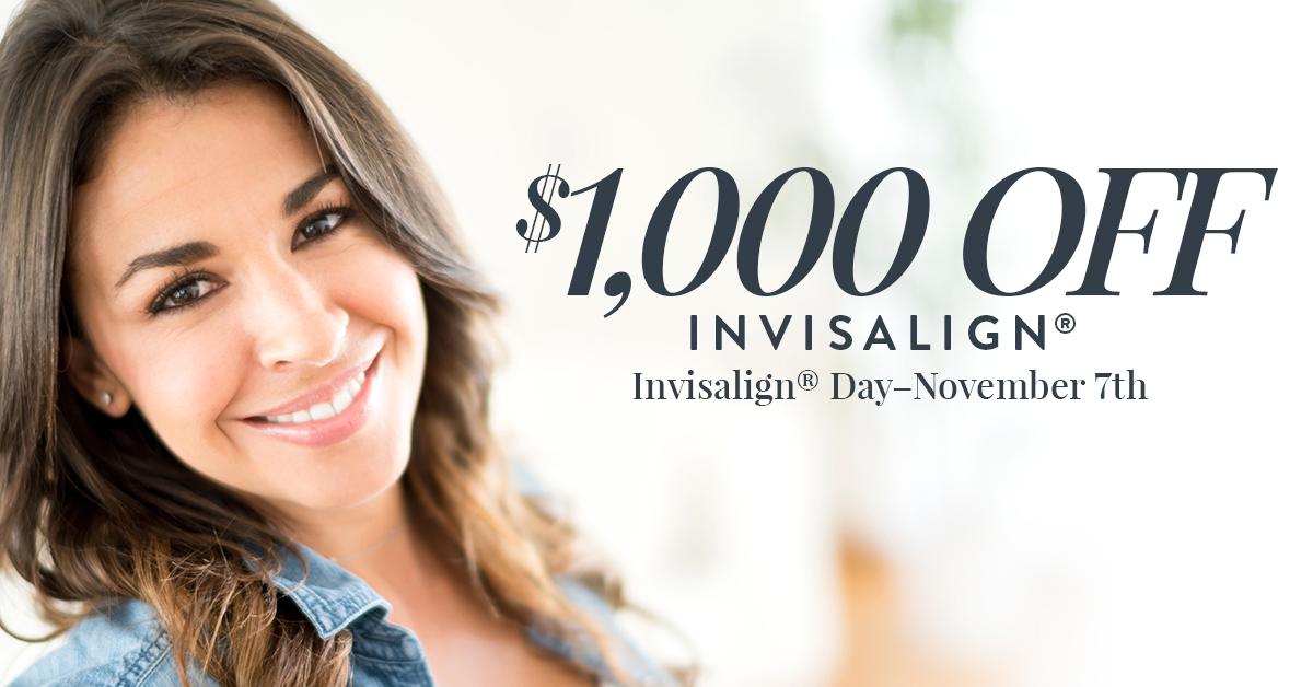 $1,000 Off Invisalign®*