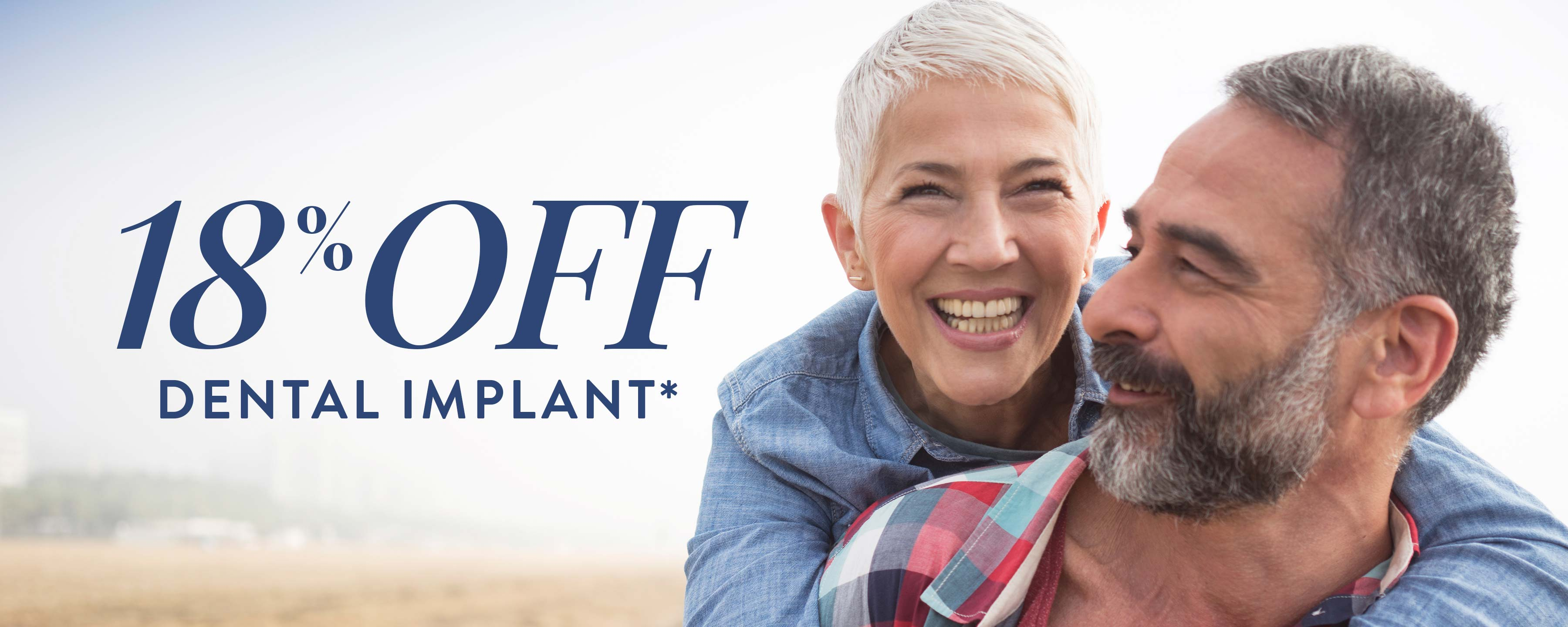 18% Off Dental Implant Treatment*