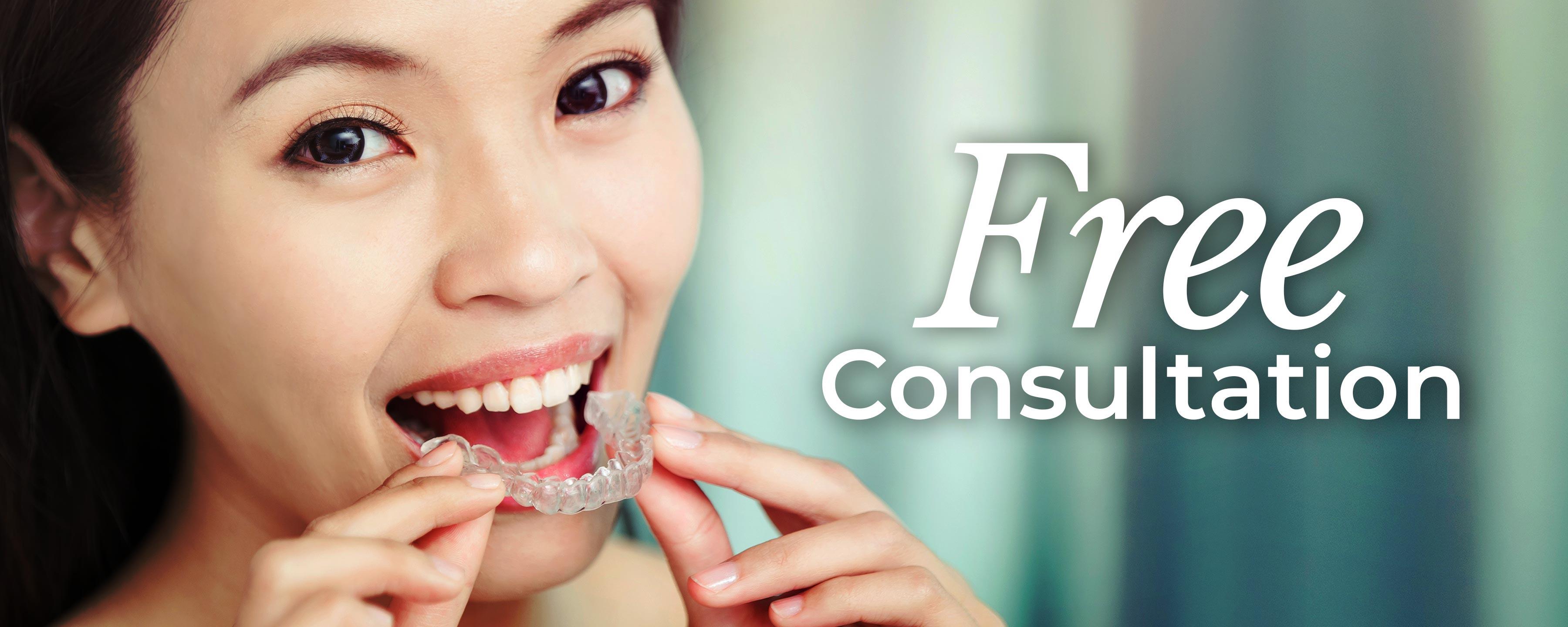 Free Invisalign® Consultation*