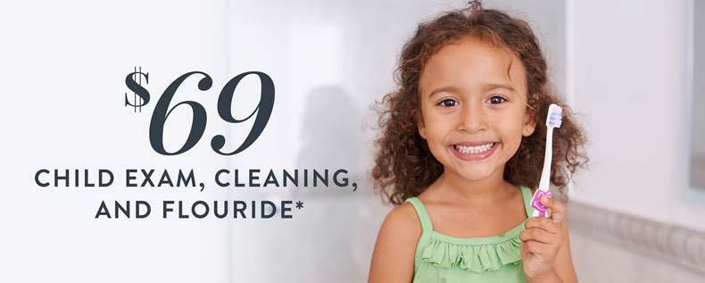 $69 Child Exam, Cleaning & Fluoride*