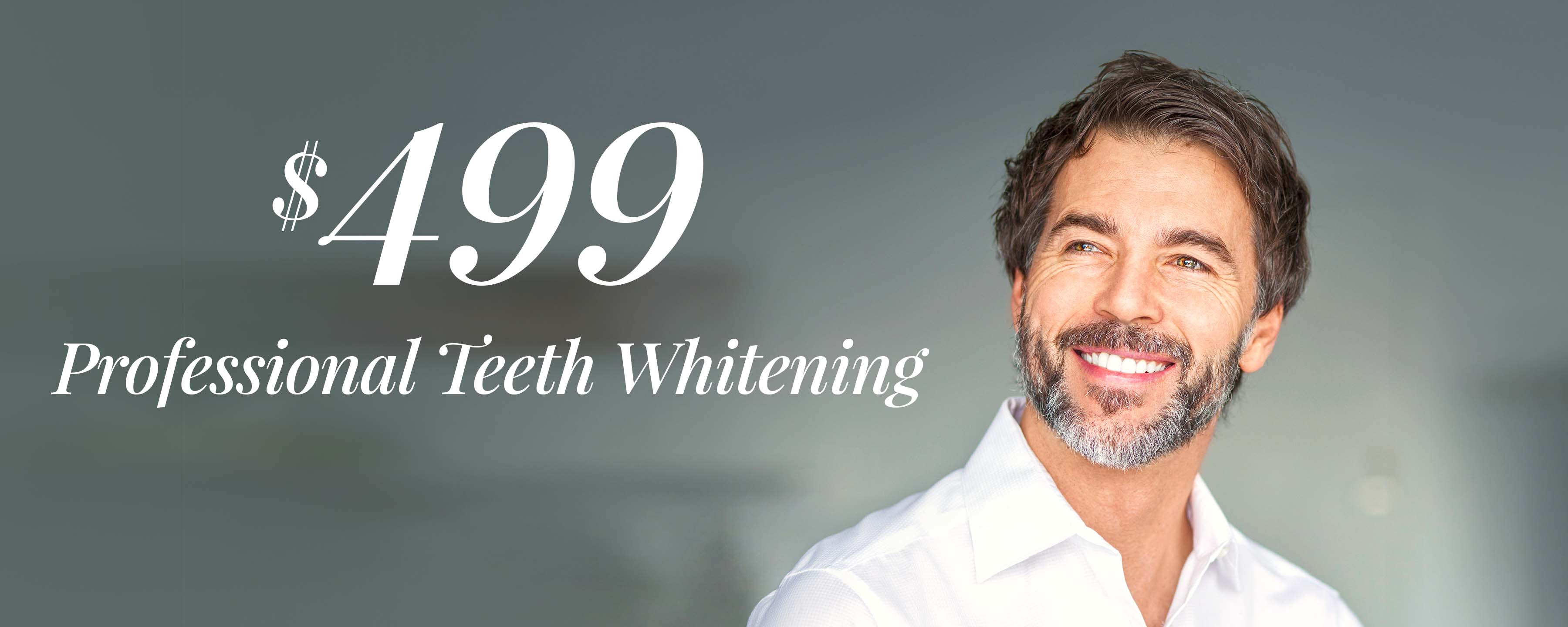 $299 Professional Teeth Whitening*