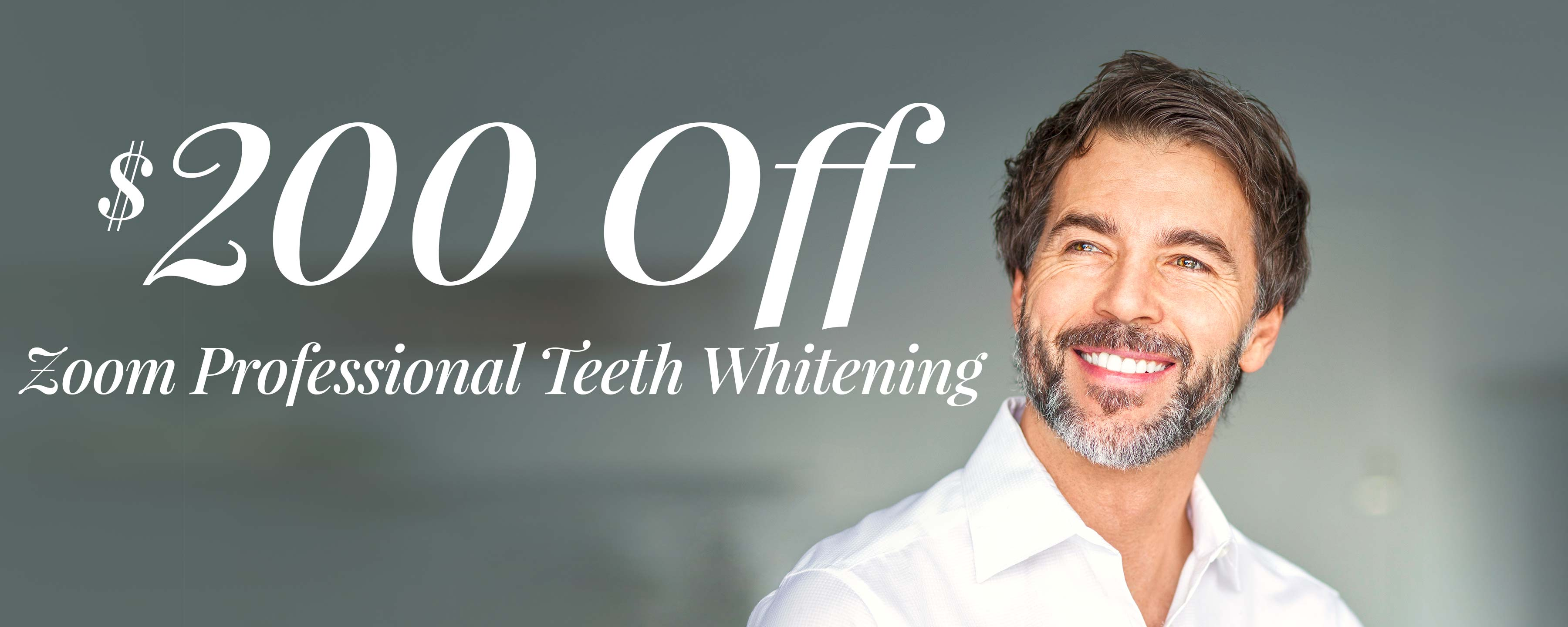$200 Off Zoom! Professional Teeth Whitening*